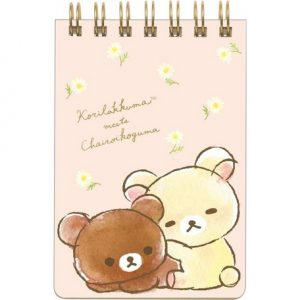 Korilakkuma and Chairokoguma Memo Pad