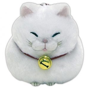 Hige Manjyu White Cat