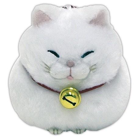 Hige Manjyu White Cat