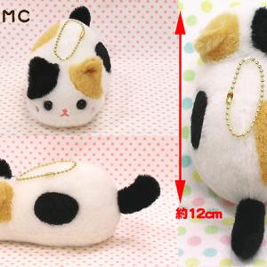 Tsuchineko Calico Cat (Keychain) by Amuse