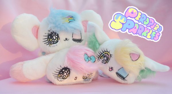 Kawaii Peropero pero pero sparkles cune melo rue yurie sekiya kawaii plush plushies plushes cute colorful colourful japan japanese