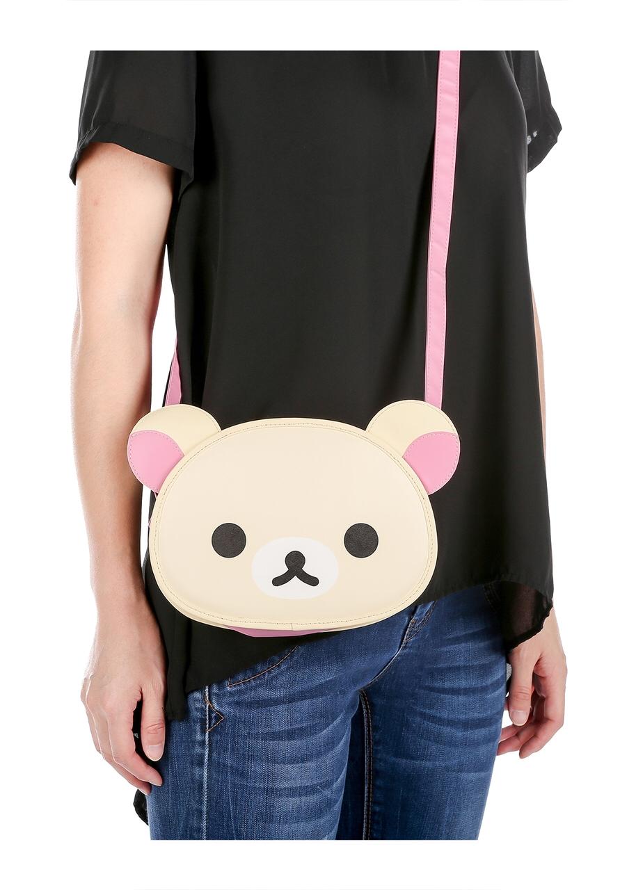 Korilakkuma bag purse pouch rilakkuma sanx san-x kawaii aesthetic cute fashion harajuku