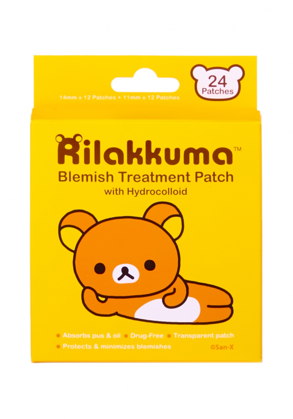 for inflammation redness rilakkuma blemish treatment patch beauty kawaii san-x sanx japan japanese patches face
