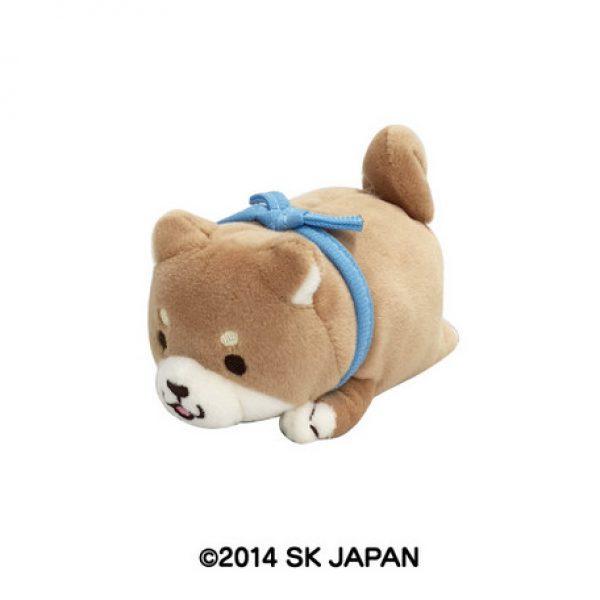 chuken mochi shiba blue bib kawaii japan import japanese imported plush crane inu puppy dog prize claw machine game ufo catcher