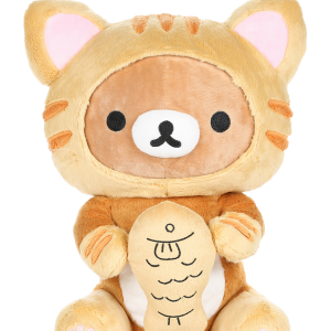 kawaii rilakkuma tiger fish plush san-x licensed