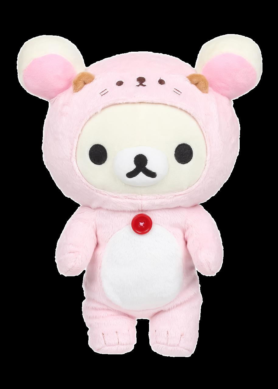 korilakkuma sea otter plush kawaii pink san-x licensed rilakkuma kiiroitori