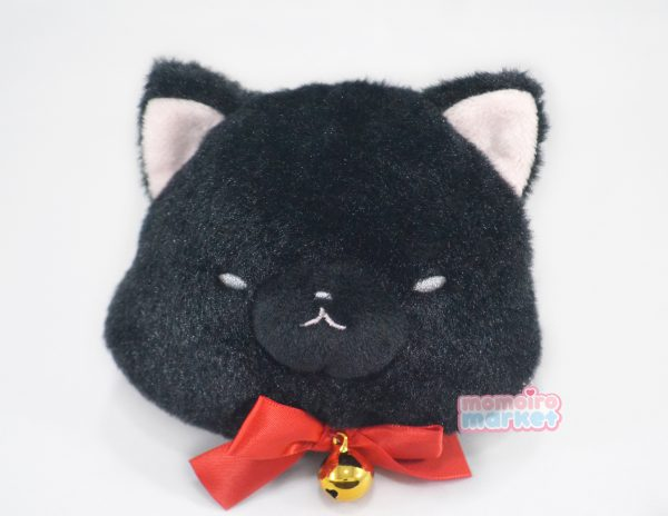 black cat neko nekos kitten nyanko nyan nya japan japanese import imported pouch purse keychain coins coin kawaii