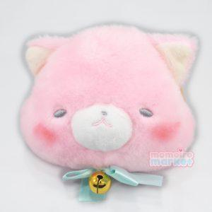 pink cat kitten kawaii nyan nyanko nya neko nekos japan japanese import pouch keychain purse