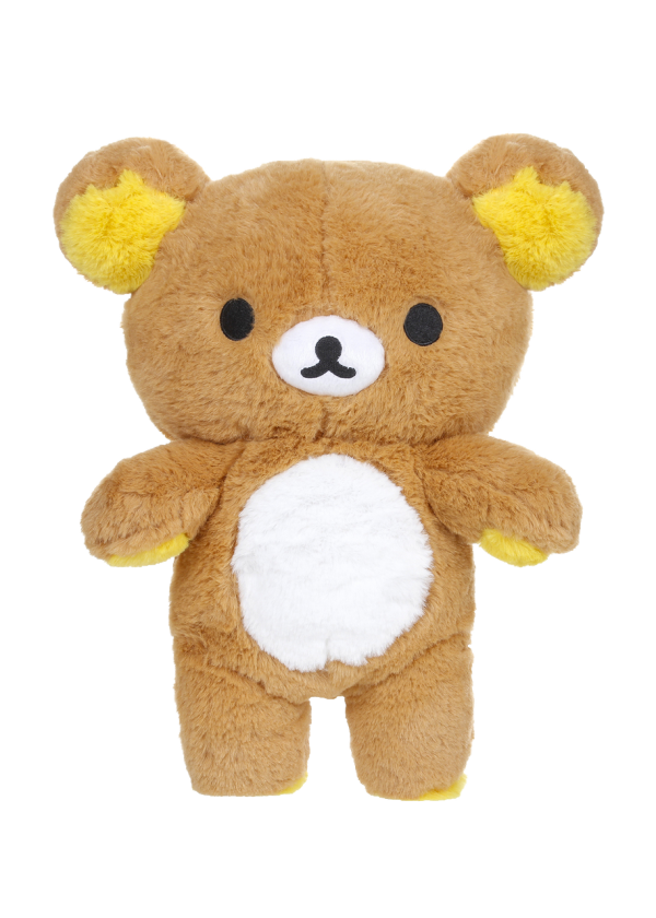 Rilakkuma standing long pile plush san-x kawaii plush licensed zipper