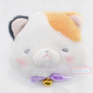 Nyanko Calico Cat Coin Pouch Plush Keychain Kawaii Momoiro Market Neko Japan