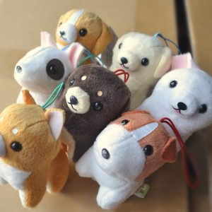 Dog Pocket Bow-wow bow wow bowwow amuse plush kawaii puppy pup japan japanese shiba inu beagle jack russell terrier dachsund labrador retriever chihuahua corgi