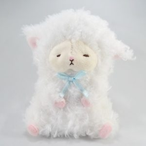 mary baby white kawaii keychain amuse plush wooly japan japanese import imported