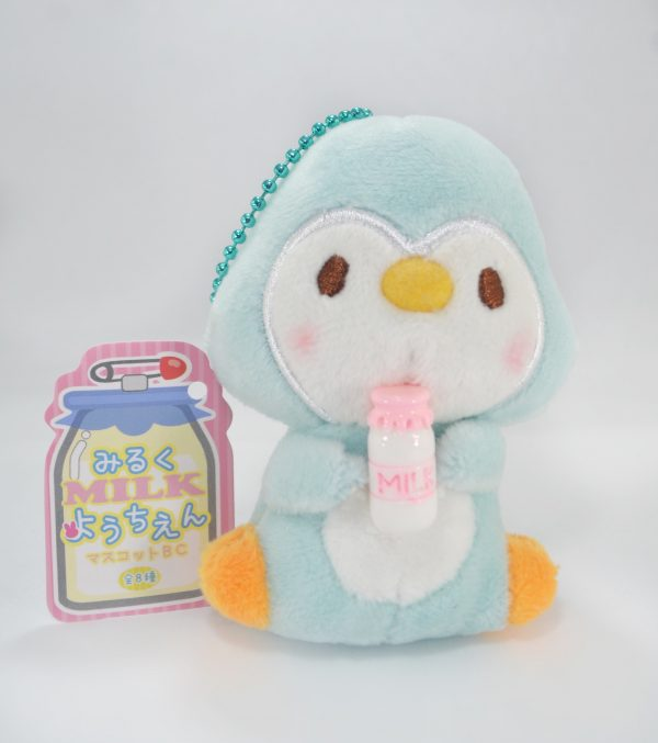 penguin kawaii japan plush japanese milk import imported