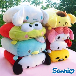 Sanrio Plush stuffed toy authentic genuine hello kitty cinnamoroll pompompurin keroppi my melody tuxedo sam gudetama pochacco little twin stars mochi japan japanese import imported