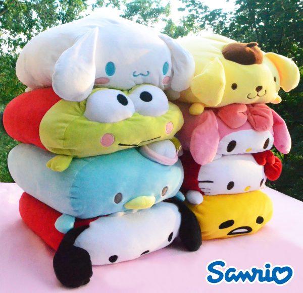 Sanrio Plush stuffed toy authentic genuine hello kitty cinnamoroll pompompurin keroppi my melody tuxedo sam gudetama pochacco little twin stars mochi japan japanese import imported