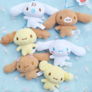 Cinnamoroll cinnamon roll friends friend mocha cappuccino espresso chiffon milk baby kawaii sanrio adorable plush plushies furyu arcade japan japanese import imported