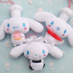 Cinnamoroll cinnamon roll friends friend mocha cappuccino espresso chiffon milk baby kawaii sanrio adorable plush plushies furyu arcade japan japanese import imported Cafe maid chef pastry