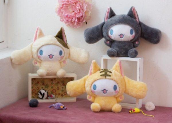 Cinnamoroll Cat kitty kitten neko nyan nya nyantomo kawaii plush soft adorable prize plushie plushes stuffed toy stuff japan japanese import imported crane game ufo catcher claw machine toreba sanrio