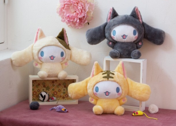 Cinnamoroll Cat kitty kitten neko nyan nya nyantomo kawaii plush soft adorable prize plushie plushes stuffed toy stuff japan japanese import imported crane game ufo catcher claw machine toreba sanrio
