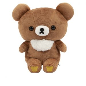 Rilakkuma with fluffy white fur in front