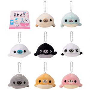 Mamegoma Plush Blind Box Key Chain