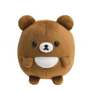 mochi round koguma chairoikoguma kogumachan soft cute hand held san-x sanx rilakkuma