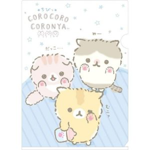 corocoro coronya san-x sanx kawaii folder stationery neko cute japan japanese import imported