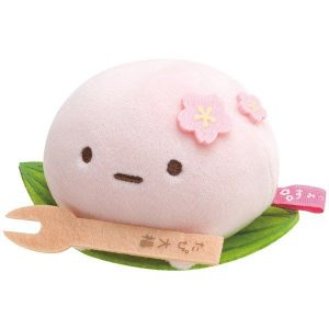 sumikko gurashi cherry blossom sakura tapioca plush plushie squishy mochi japan japanese import imported cute tokage