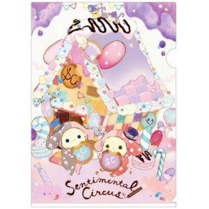 sentimental circus shappo spica sanx san-x japan japanese import imported clear file folder stationery accessories kawaii spica